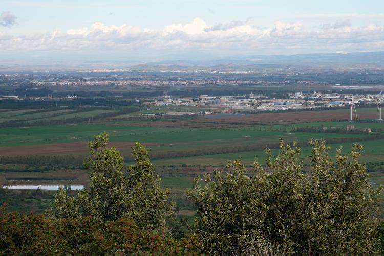 Vista del territorio